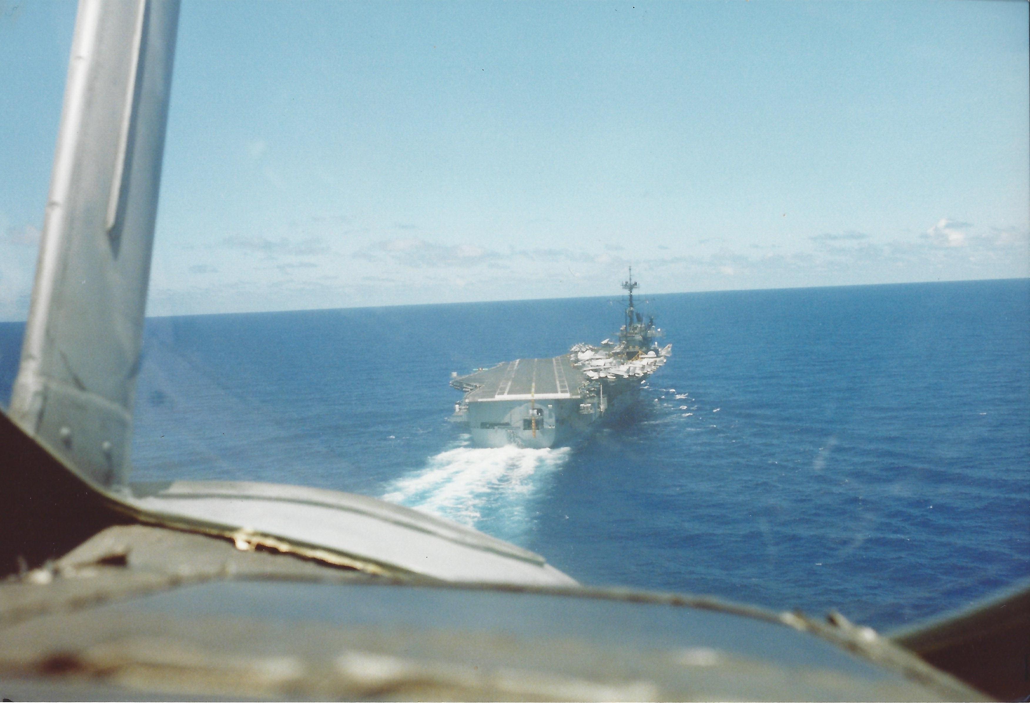 Goodbye, USS Ranger